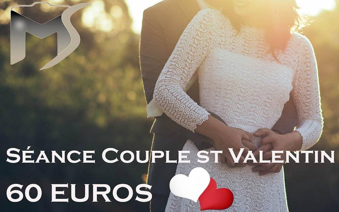 Séance couple saint valentin
