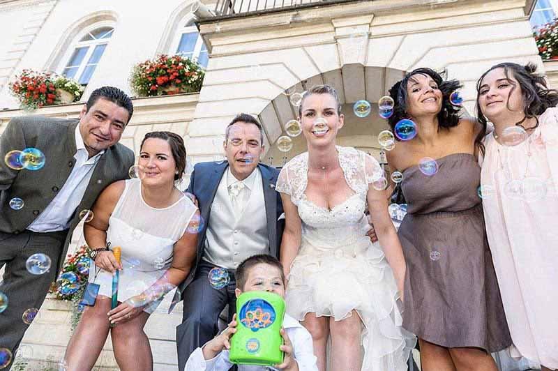 Photos groupe - photographe de mariage Bassin d'Arcachon