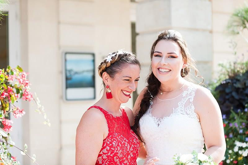 Audrey & Thomas, un mariage intimiste et très émouvant au Port d'Arcachon
