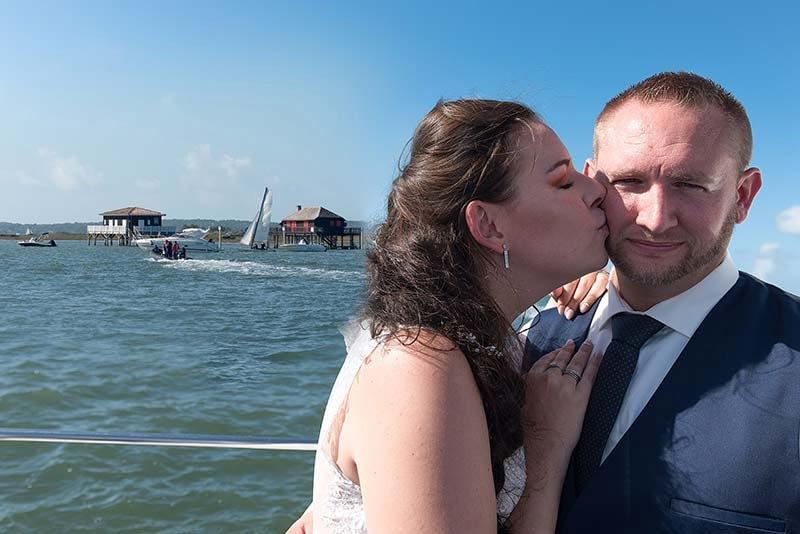 photographe de mariage en gironde bordeaux Audenge